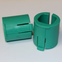2 x 23mm Green Insert for Nufish adaptor from the aqualock side tray